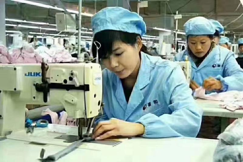 常年招收缝纫女工